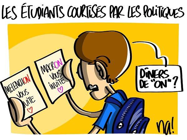 """Spécial """"Un dîner de """"ONS"""", à Matignon, pour les étudiants..."""" - Image n° 3/3 !..."""