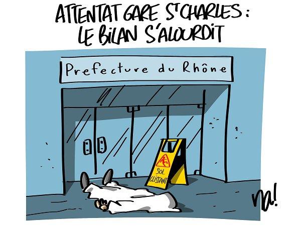"Spécial ""Attentat Gare St Charles : le bilan s'alourdit..."" - Image n° 1/3 !..."