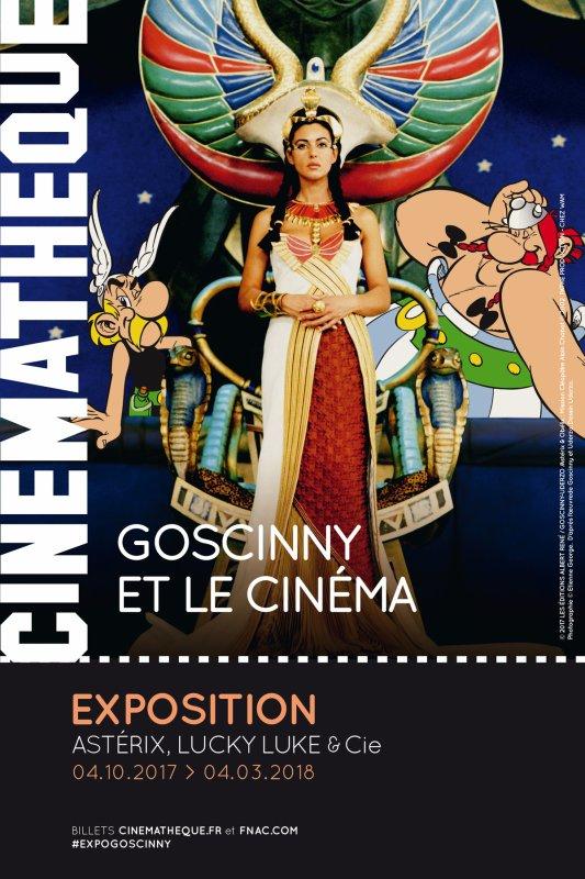 Exposition Goscinny et le cinéma - La Cinémathèque française La Cinémathèque française !...