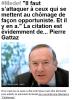 """Spécial """"Pierre Gattaz CHASSE AU NUISIBLE..."""" - Image n° 1/2 !..."""
