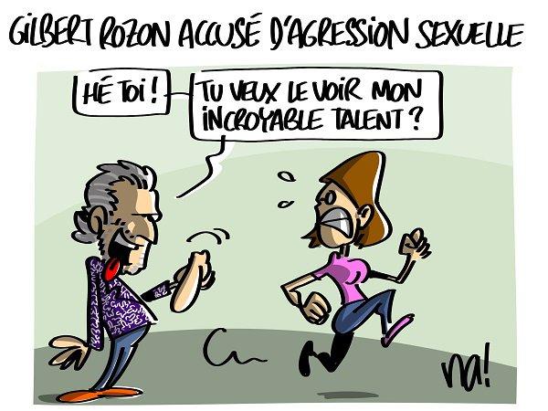 """Spécial """"Gilbert Rozon accusé d'agression sexuelle..."""" - Image n° 2/2 !..."""