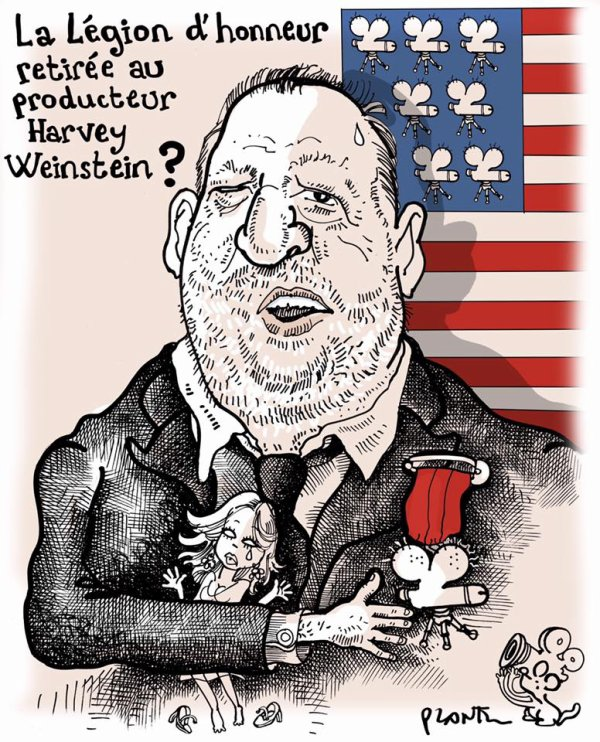 """Spécial """" La Légion d'honneur de Harvey Weinstein..."""" - Image n° 2/2 !..."""