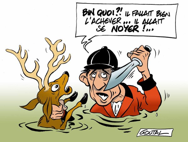 """Spécial """"La mort tragique d'un cerf..."""" - Image n° 2/2 !..."""
