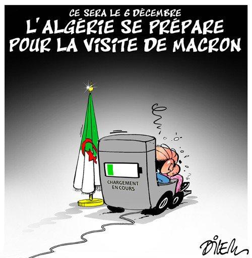 """Spécial """"France-Algérie : Emmanuel Macron se rendra à Alger le 6 décembre..."""" - Image n° 2/2 !..."""