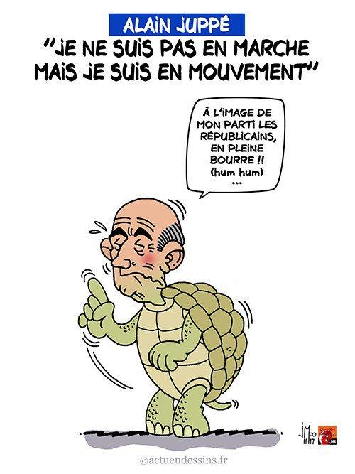 """Spécial """"Juppé se dit « en mouvement » pas « En marche »..."""" - Image n° 2/2 !..."""