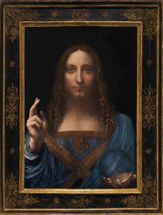 """Spécial """"Vente record pour un tableau de Léonard de Vinci..."""" - Image n° 1/2 !..."""