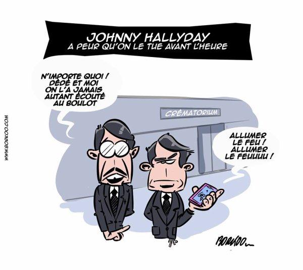 """Spécial """"Johnny Hallyday a nouveau hospitalisé..."""" - Image n° 3/3 !..."""