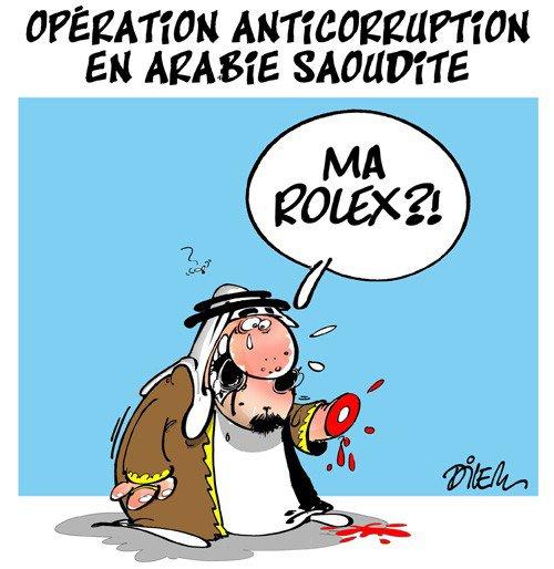"""Spécial """"Opération anti-corruption en Arabie Saoudite..."""" - Image n° 2/2 !..."""