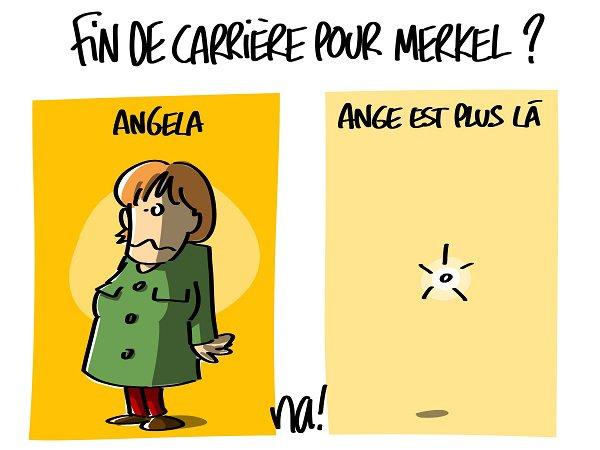 """Spécial """"Fin de carrière pour Merkel..."""" - Image n° 2/2 !..."""