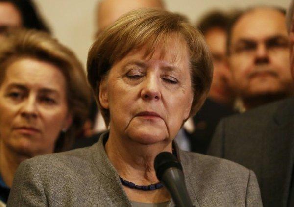 """Spécial """"Fin de carrière pour Merkel..."""" - Image n° 1/2 !..."""