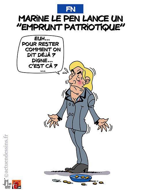 """Spécial """"Marine Le Pen lance un « emprunt patriotique »..."""" - Image n° 2/2 !..."""