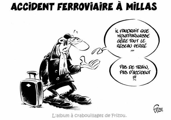 """Spécial """"Accident ferroviaire à Millas..."""" - Image n° 2/2 !..."""
