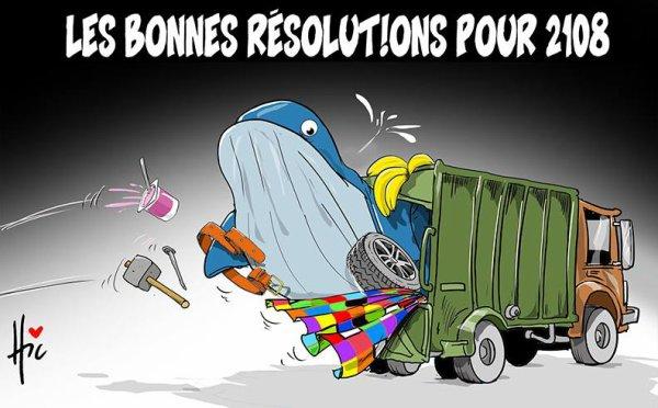 """Spécial """"Algérie : Les bonnes résolutions 2018..."""" - Image n° 2/2 !..."""
