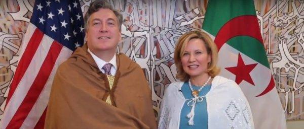 """Spécial """"Algérie : Yennayer - L'ambassadeur des États-Unis exprime ses v½ux..."""" - Image n° 1/2 !..."""