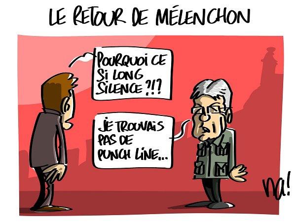 """Spécial """"Le retour de Mélenchon..."""" - Image n° 3/3 !..."""