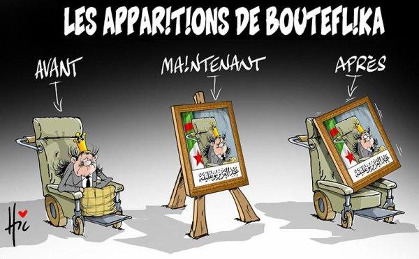"Spécial ""Les apparitions de Bouteflicka..."" - Image n° 2/2 !..."