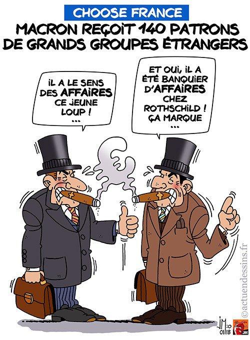 """Spécial """"Choose France : 140 patrons de grands groupes étrangers à Versailles !..."""" - Image n° 2/2 !..."""