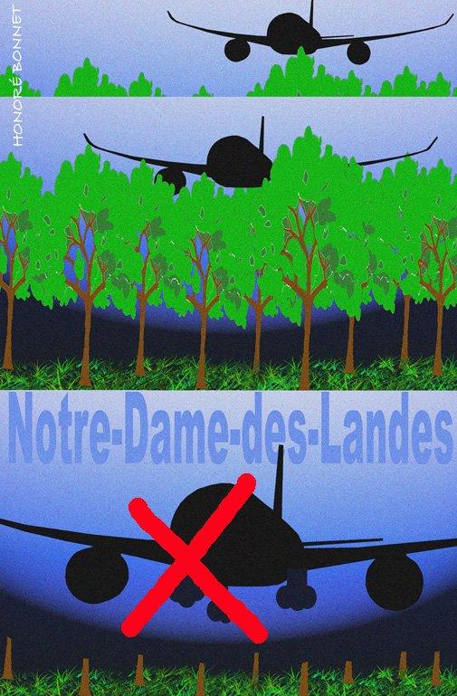 """Spécial """"Abandon du projet d'aéroport / Notre Dame des Landes..."""" - Image n° 2/2 !..."""