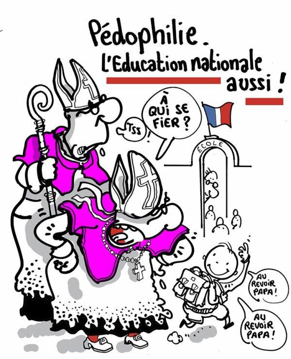 """Spécial """"PÉDOPHILIE À L'ÉCOLE..."""" - Image n° 2/2 !..."""