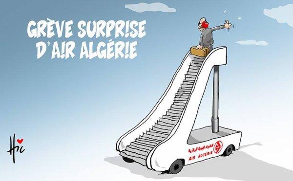 """Spécial """"Grève éclair surprise à Air Algérie..."""" - Image n° 3/3 !..."""