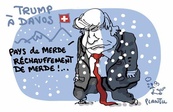 """Spécial """"TRUMP À DAVOS ?..."""" - Image n° 2/2 !..."""