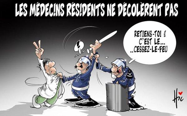 """Spécial """"Algérie : Les médecins résidents ne décolèrent pas..."""" - Image n° 2/2 !..."""