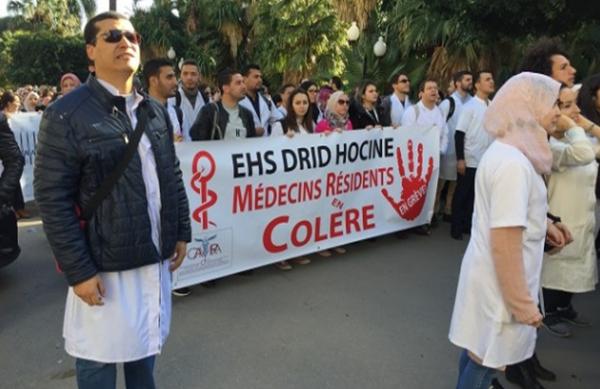 """Spécial """"Algérie : Les médecins résidents ne décolèrent pas..."""" - Image n° 1/2 !..."""