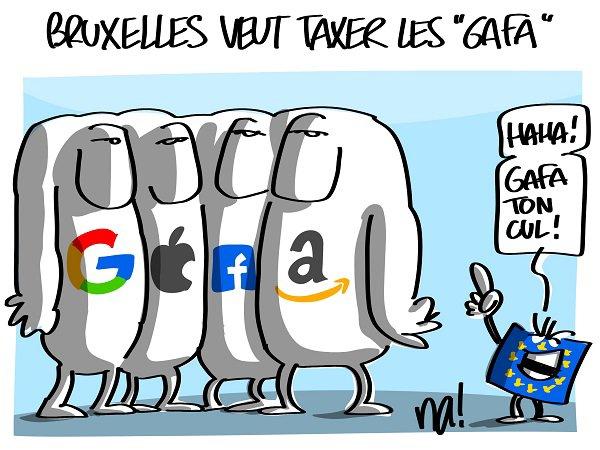 "Spécial ""Bruxelles veut taxer les ""GAFA""..."" - Image n° 11/11 !..."