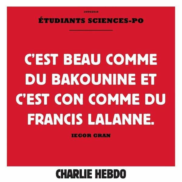 """Spécial """"Les billets du jour de Charlie hebdo..."""" - Tableau n° 2/3 !..."""