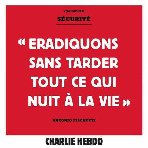 """Spécial """"Les billets du jour de Charlie hebdo..."""" - Tableau n° 1/3 !..."""