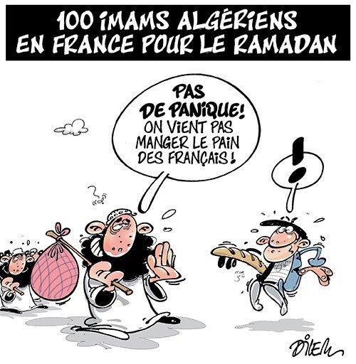 """Spécial """"Ramadan : la venue de centaines d'imams étrangers préoccupe..."""" - Image n° 2/2 !..."""