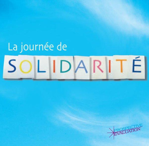 """Spécial """"La journée de la solidarité..."""" - Image n° 1/3 !..."""