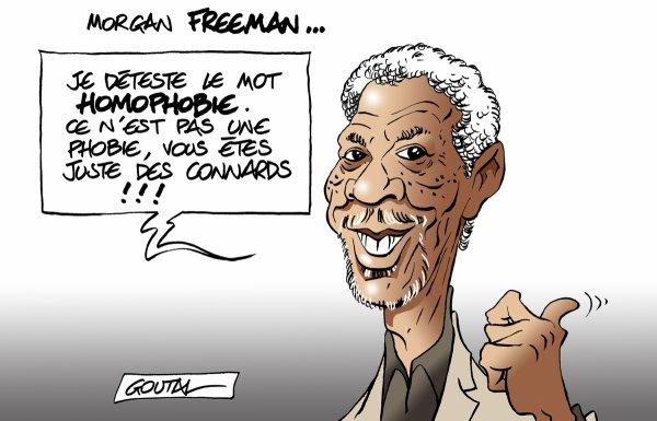 """Spécial """"Morgan Freeman, au sujet de l'homophobie..."""" - Image n° 3/3 !..."""