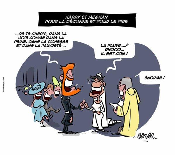 "Spécial ""Mariage princier d'harry & Meghan..."" - Image n° 2/2 !..."