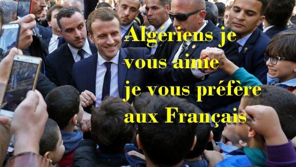 Pourquoi est-ce qu'Emmanuel Macron fait-il autant confiance à l'Algérie ?...