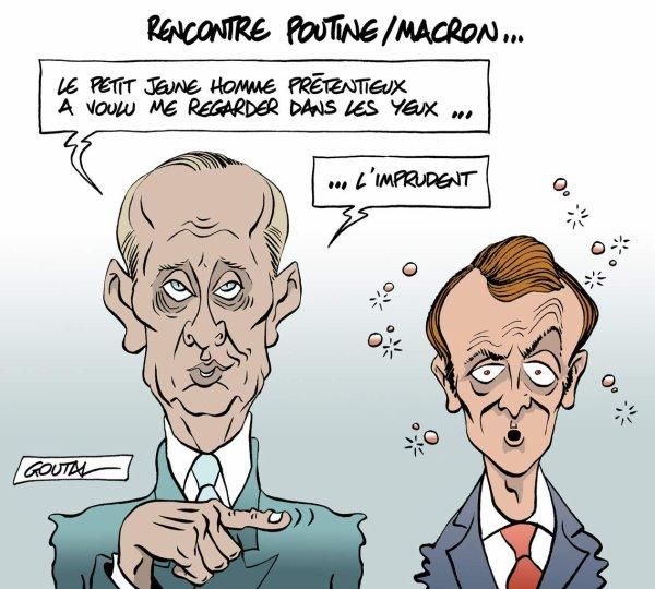 """Spécial """"Rencontre Poutine/Macron..."""" - Image n° 2/2 !..."""
