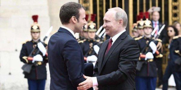 """Spécial """"Rencontre Poutine/Macron..."""" - Image n° 1/2 !..."""