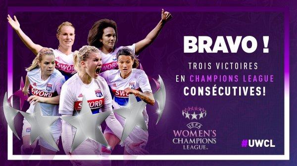 """Spécial """"Football : l'Olympique lyonnais remporte sa troisième Ligue des champions féminine d'affilée..."""" - Image n° 4/4 !..."""