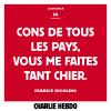 Le billet du jour de Charlie Hebdo !...
