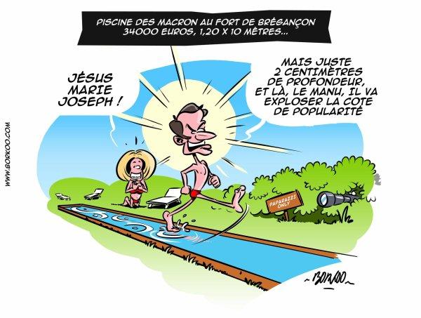 Special Macron On Connait Les Dimensions De La Piscine De