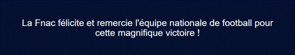 """Spécial """"La France remercie l'équipe de France..."""" - Image n° 1/2 !..."""