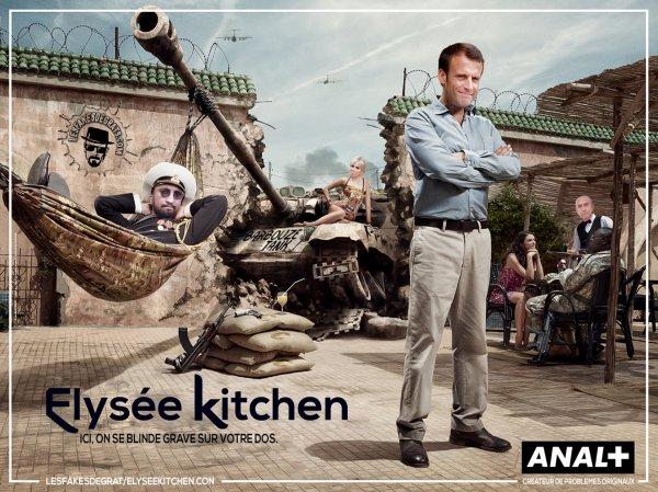 """Spécial """"Emmanuel Macron ÉLYSÉE KITCHEN 2..."""" - Image n° 2/2 !..."""