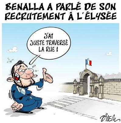 """Spécial """"Benalla a parlé de son recrutement à l'Élysée..."""" - Image n° 2/2 !..."""