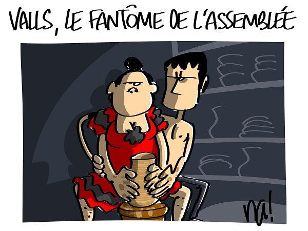 """Spécial """"Valls le fantôme de l'assemblée..."""" - Image n° 2/2 !..."""