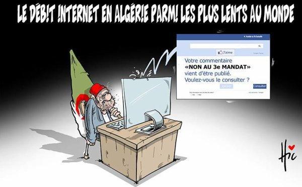 """Spécial """"L'Algérie possède le 2 ème plus lent débit internet au monde..."""" - Image n° 3/3 !..."""