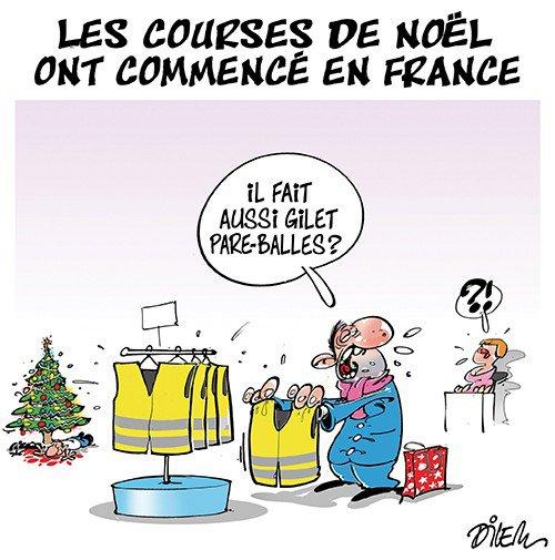 """Spécial """"Les courses de Noël ont commencé en France..."""" - Image n° 2/2 !..."""