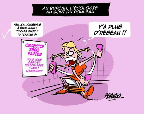"""Spécial """"L'écologie au bout du rouleau..."""" - Image n° 2/2 !..."""