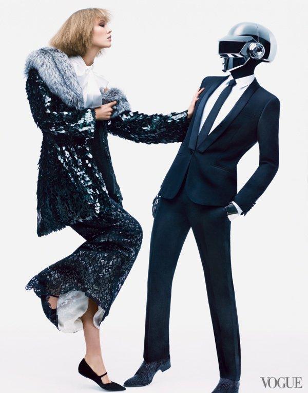 Pub de Vogue des Daft Punk et de Karlie Kloss