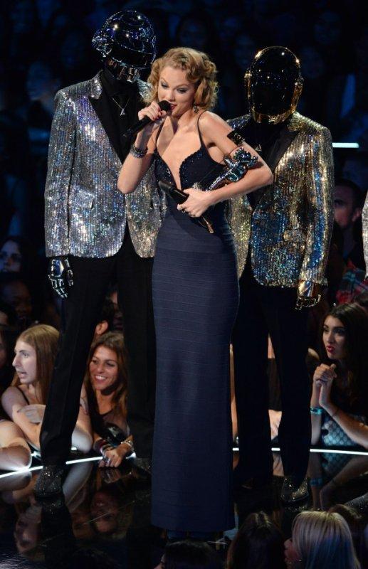 Les Daft Punk était au MTV Music Vidéo Awards mais ps élue.
