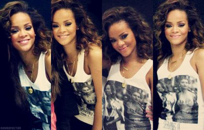 Rihanna, We found love in you.